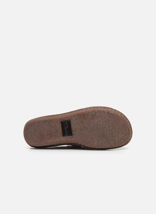 Chaussures à lacets Clarks Unstructured Funny Dream Violet vue haut