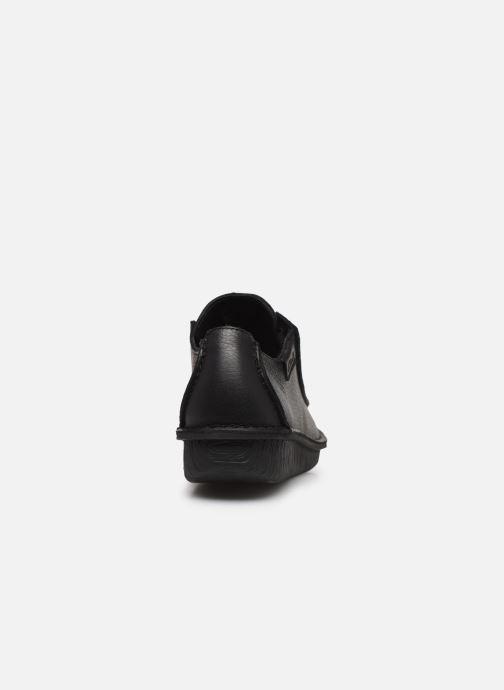 Zapatos con cordones Clarks Unstructured Funny Dream Negro vista lateral derecha