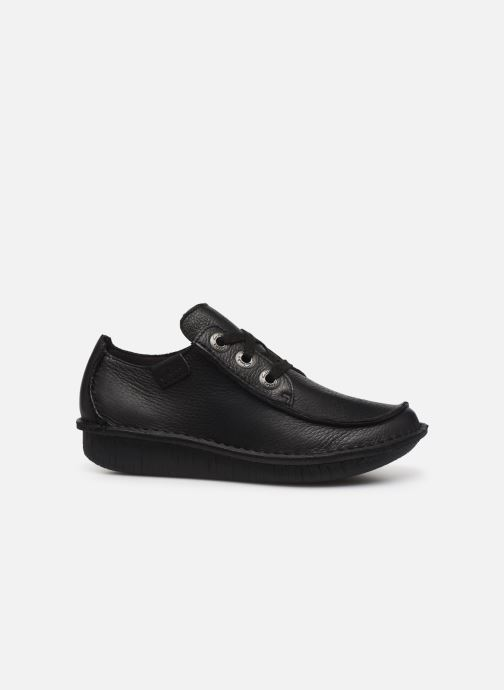 Zapatos con cordones Clarks Unstructured Funny Dream Negro vistra trasera