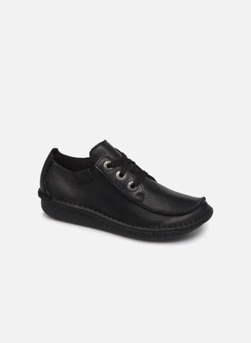 Chaussures à lacets Clarks Unstructured Funny Dream Noir vue détail/paire