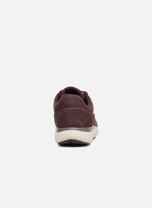Sneakers Clarks Unstructured Un Cruise Lace Paars rechts