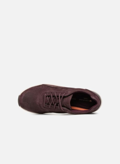 Sneakers Clarks Unstructured Un Cruise Lace Viola immagine sinistra