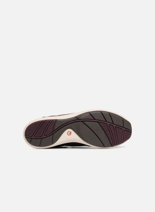 Sneakers Clarks Unstructured Un Cruise Lace Viola immagine dall'alto