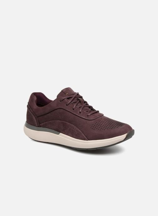Sneakers Clarks Unstructured Un Cruise Lace Paars detail