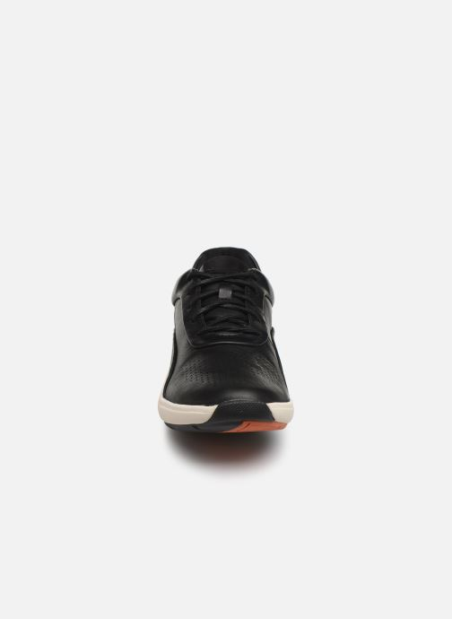 Trainers Clarks Unstructured Un Cruise Lace Black model view