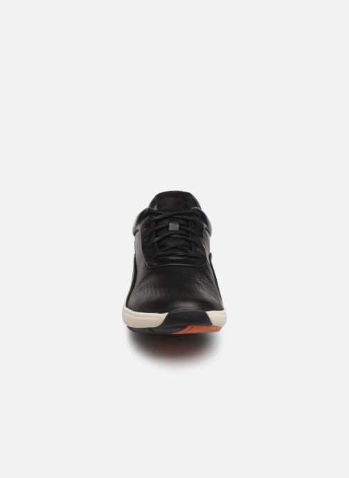 Baskets Clarks Unstructured Un Cruise Lace Noir vue portées chaussures