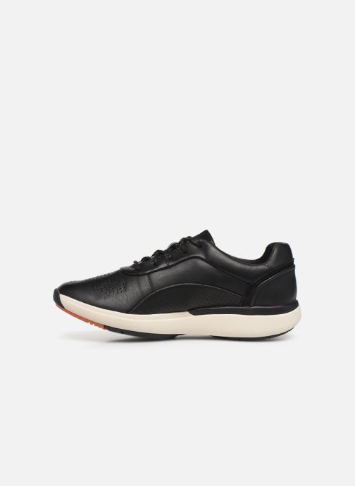 Trainers Clarks Unstructured Un Cruise Lace Black front view