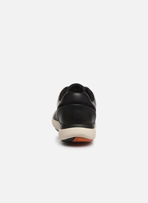 Baskets Clarks Unstructured Un Cruise Lace Noir vue droite