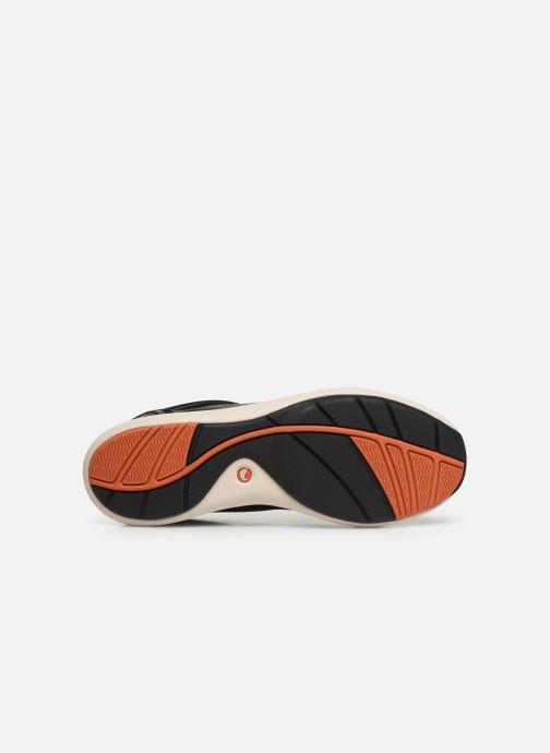 Baskets Clarks Unstructured Un Cruise Lace Noir vue haut