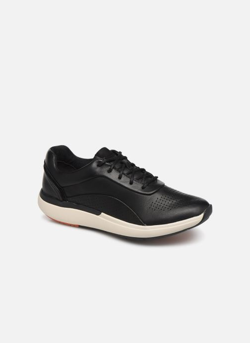 Trainers Clarks Unstructured Un Cruise Lace Black detailed view/ Pair view