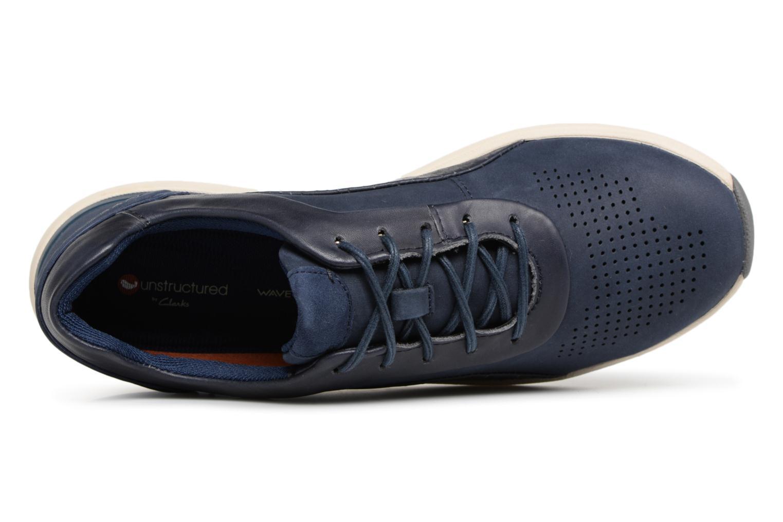 Clarks Unstructured Un Cruise Lace (Azul) - Deportivas de en Más cómodo Zapatos de Deportivas mujer baratos zapatos de mujer bba557