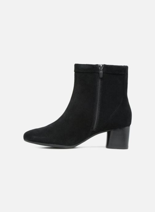 Boots en enkellaarsjes Clarks Unstructured Un Cosmo Up Zwart voorkant