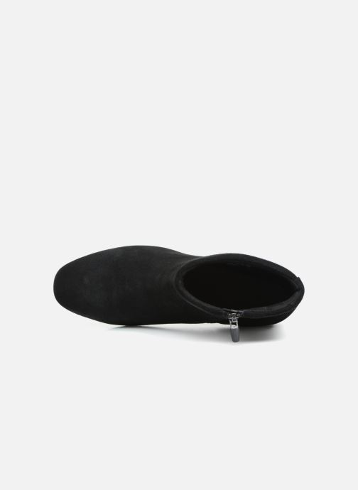 Botines  Clarks Unstructured Un Cosmo Up Negro vista lateral izquierda