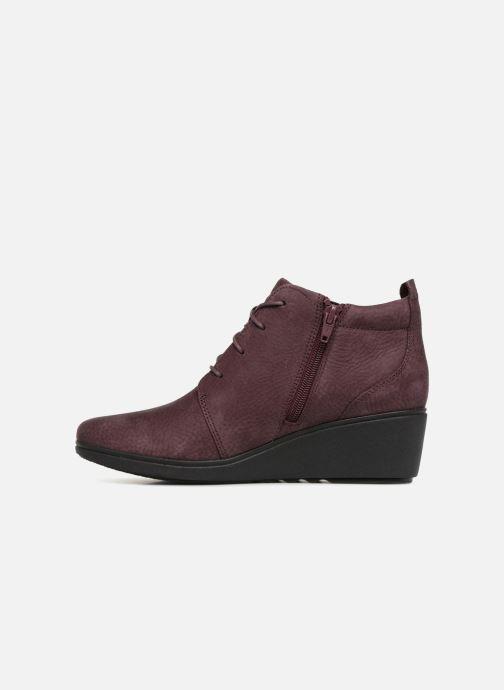 Bottines et boots Clarks Unstructured Un Tallara Eva Violet vue face