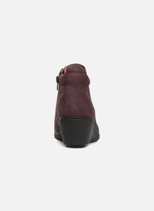 Bottines et boots Clarks Unstructured Un Tallara Eva Violet vue droite