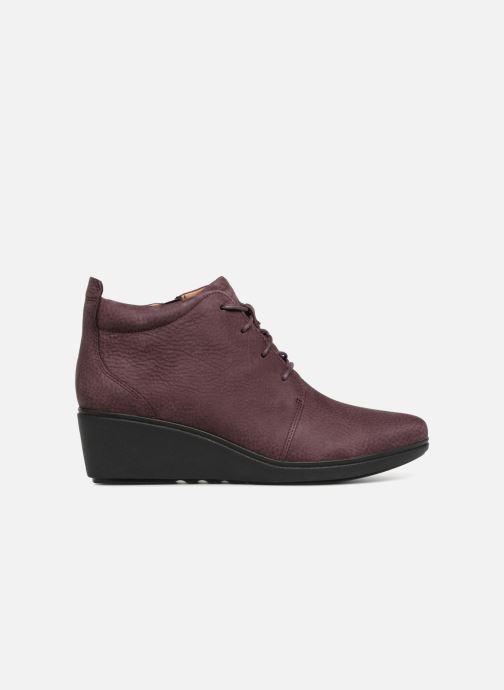 Bottines et boots Clarks Unstructured Un Tallara Eva Violet vue derrière