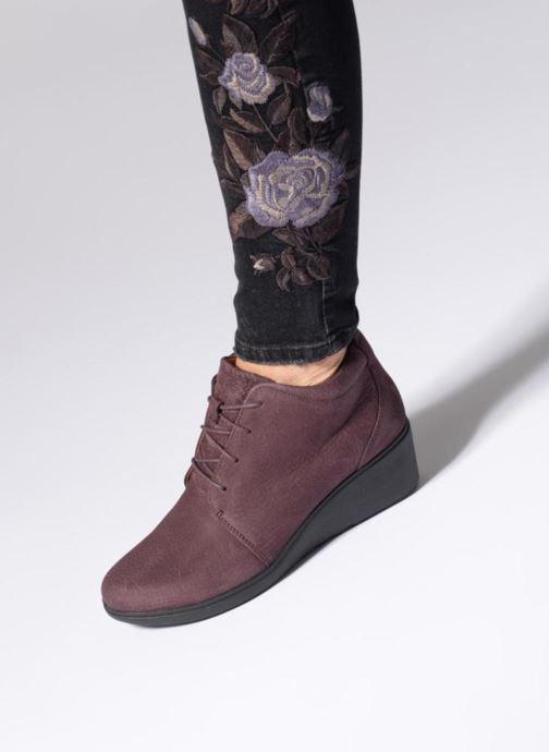 Bottines et boots Clarks Unstructured Un Tallara Eva Noir vue bas / vue portée sac