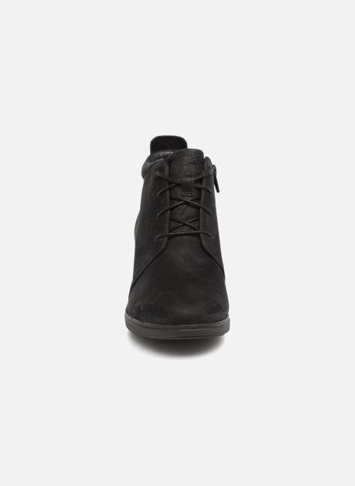 Bottines et boots Clarks Unstructured Un Tallara Eva Noir vue portées chaussures
