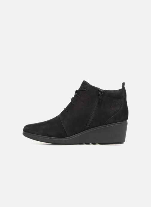 Bottines et boots Clarks Unstructured Un Tallara Eva Noir vue face