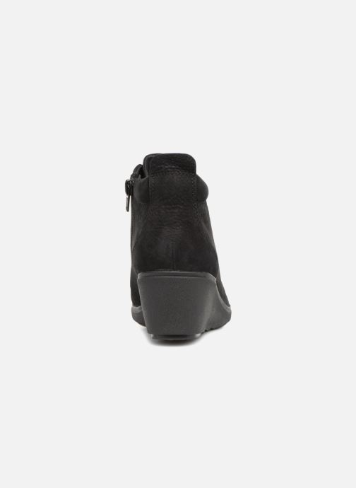Bottines et boots Clarks Unstructured Un Tallara Eva Noir vue droite