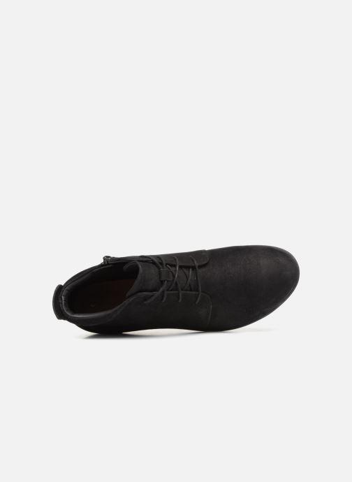 Bottines et boots Clarks Unstructured Un Tallara Eva Noir vue gauche