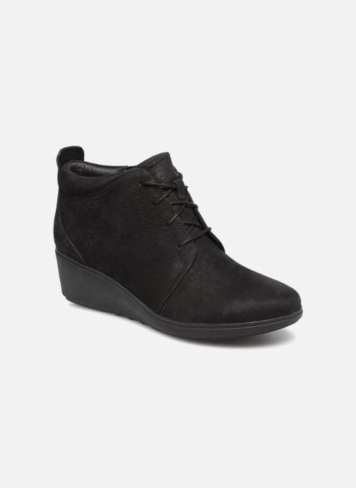 Bottines et boots Clarks Unstructured Un Tallara Eva Noir vue détail/paire