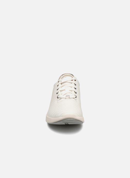 Baskets Clarks Unstructured Un Alfresco Lo Blanc vue portées chaussures