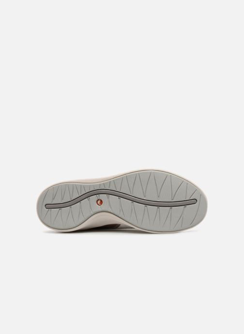 Baskets Clarks Unstructured Un Alfresco Lo Blanc vue haut