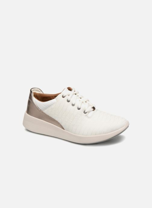 Baskets Clarks Unstructured Un Alfresco Lo Blanc vue détail/paire