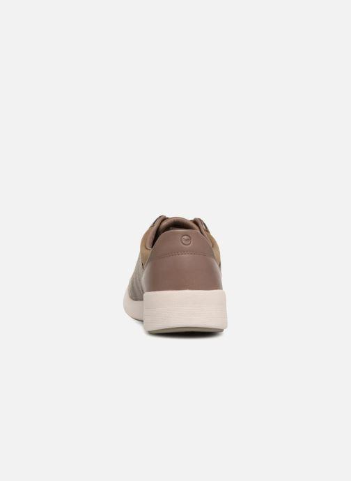 Sneakers Clarks Unstructured Un Alfresco Lo Goud en brons rechts