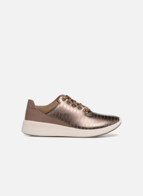 Sneakers Clarks Unstructured Un Alfresco Lo Goud en brons achterkant