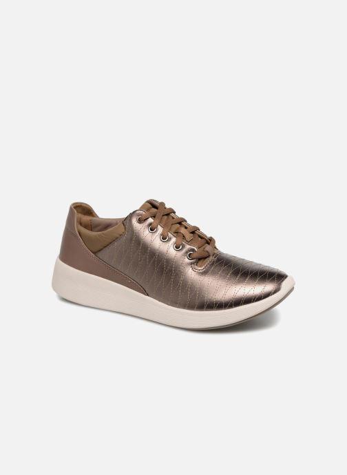 Sneakers Clarks Unstructured Un Alfresco Lo Goud en brons detail