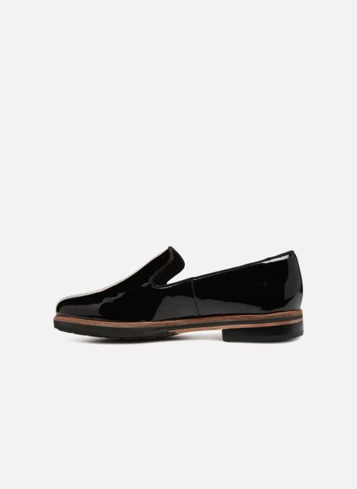 Mocassins Clarks Unstructured Frida Loafer Noir vue face