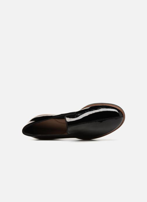 Mocassins Clarks Unstructured Frida Loafer Noir vue gauche