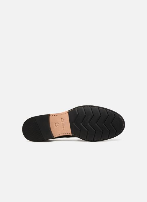 Mocassins Clarks Unstructured Frida Loafer Noir vue haut
