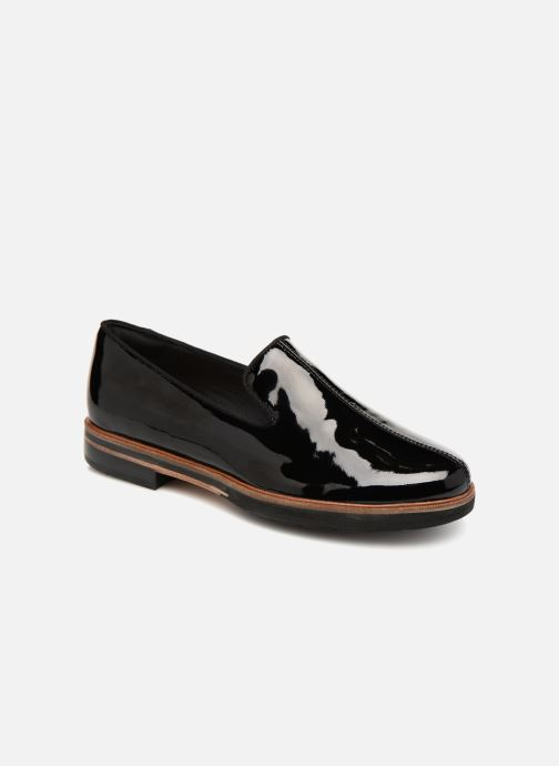 Mocassins Clarks Unstructured Frida Loafer Noir vue détail/paire