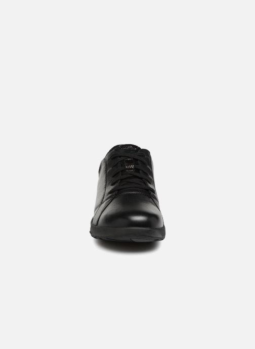 66cb6a6b5010f0 Clarks Unstructured Un Adorn Lace (Black) - Trainers chez Sarenza ...