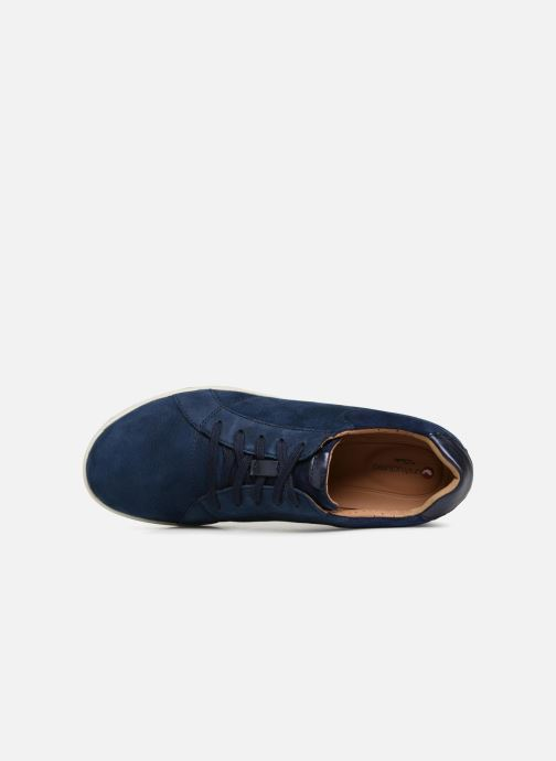 Sneakers Clarks Unstructured Un Adorn Lace Blauw links