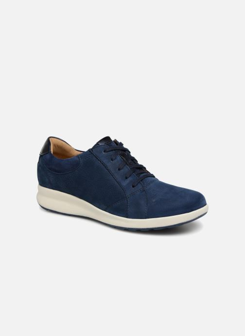 Sneakers Clarks Unstructured Un Adorn Lace Blauw detail