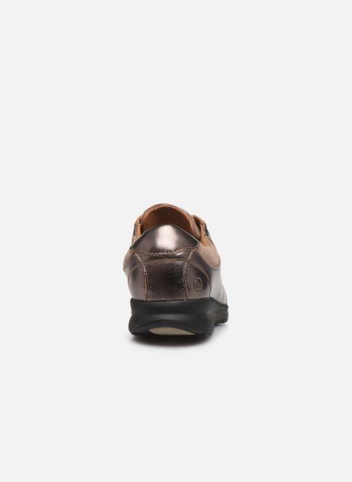 Sneakers Clarks Unstructured Un Adorn Lace Zilver rechts