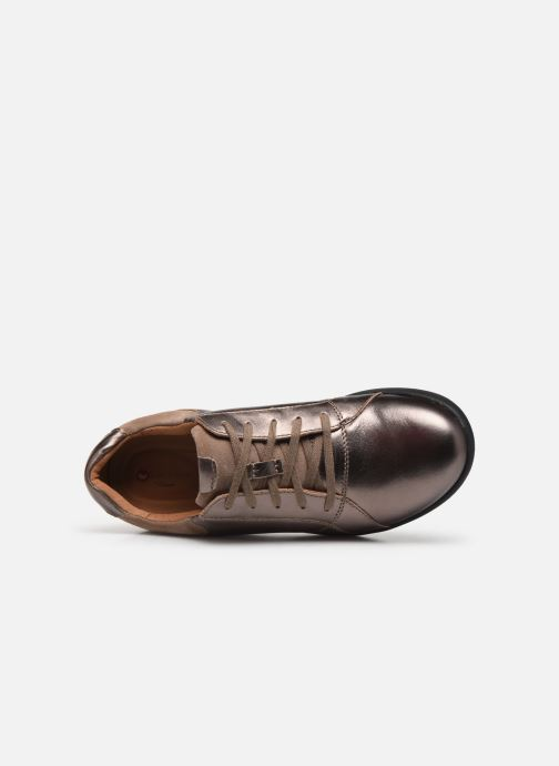 Sneakers Clarks Unstructured Un Adorn Lace Zilver links