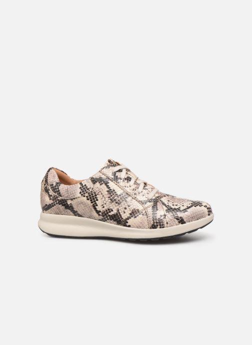 Sneakers Clarks Unstructured Un Adorn Lace Grijs achterkant