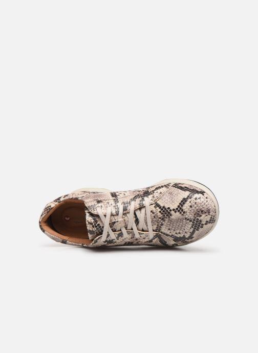 Sneakers Clarks Unstructured Un Adorn Lace Grigio immagine sinistra
