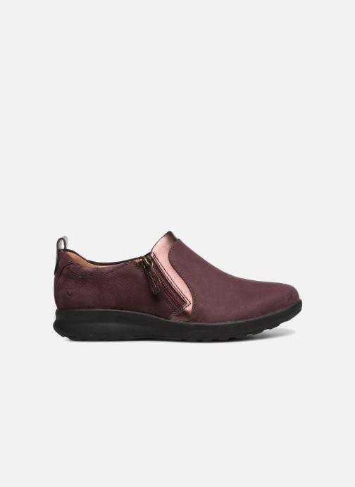 Sneakers Clarks Unstructured Un Adorn Zip Viola immagine posteriore