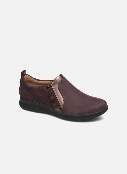 Sneakers Clarks Unstructured Un Adorn Zip Viola vedi dettaglio/paio