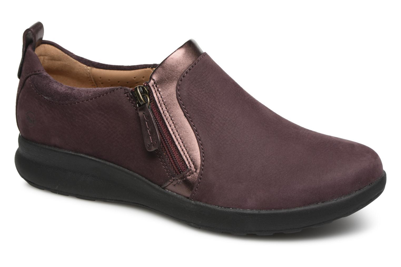 Clarks (Purple) Unstructured Un Adorn Zip (Purple) Clarks - Trainers chez (340196) 87acf5