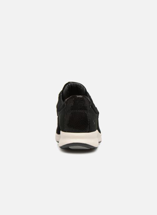 Baskets Clarks Unstructured Un Adorn Lo Noir vue droite