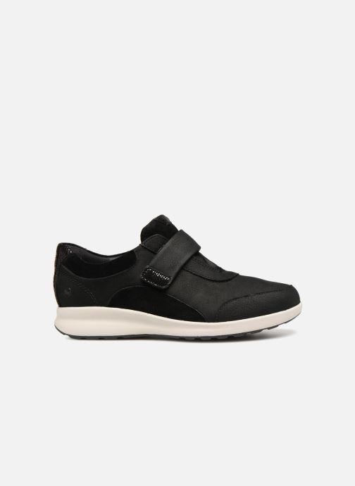 Sneakers Clarks Unstructured Un Adorn Lo Nero immagine posteriore