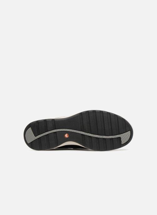 Sneakers Clarks Unstructured Un Adorn Lo Nero immagine dall'alto