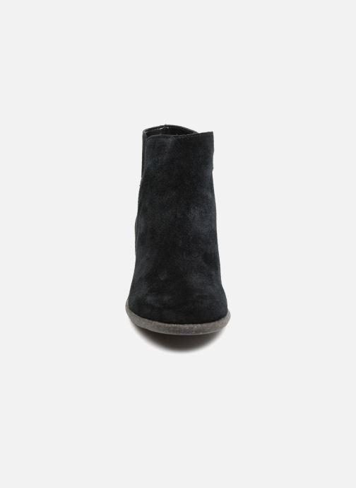 Bottines et boots Clarks Unstructured Wilrose Frost Noir vue portées chaussures